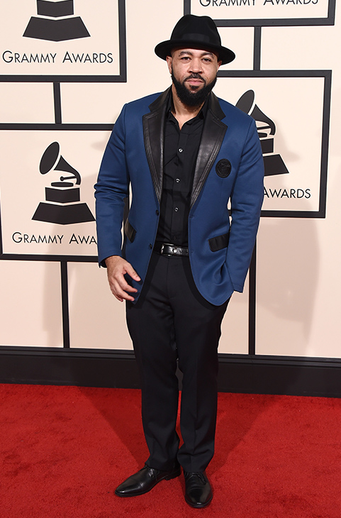 <div class='meta'><div class='origin-logo' data-origin='AP'></div><span class='caption-text' data-credit='Jordan Strauss/Invision/AP'>Jim Beanz arrives at the 58th annual Grammy Awards at the Staples Center on Monday, Feb. 15, 2016, in Los Angeles.</span></div>