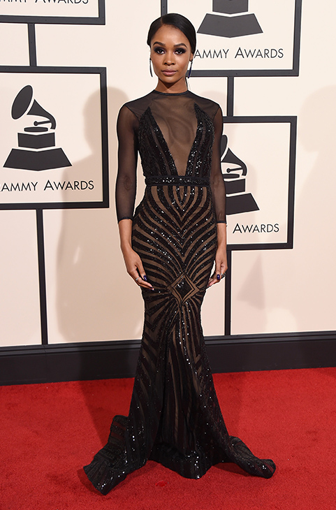 <div class='meta'><div class='origin-logo' data-origin='AP'></div><span class='caption-text' data-credit='Jordan Strauss/Invision/AP'>Zuri Hall arrives at the 58th annual Grammy Awards at the Staples Center on Monday, Feb. 15, 2016, in Los Angeles.</span></div>