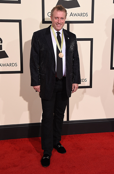 <div class='meta'><div class='origin-logo' data-origin='none'></div><span class='caption-text' data-credit='Jordan Strauss/Invision/AP'>Charles Bruffy arrives at the 58th annual GRAMMY Awards at the Staples Center on Monday, Feb. 15, 2016, in Los Angeles.</span></div>