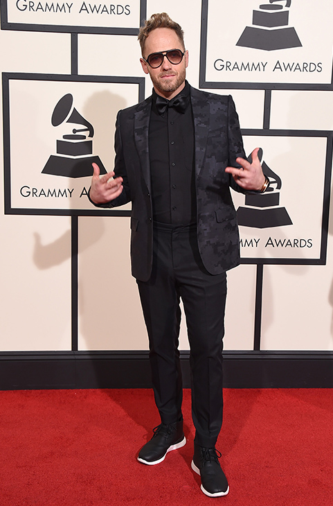 <div class='meta'><div class='origin-logo' data-origin='AP'></div><span class='caption-text' data-credit='Jordan Strauss/Invision/AP'>TobyMac arrives at the 58th annual Grammy Awards at the Staples Center on Monday, Feb. 15, 2016, in Los Angeles. (</span></div>