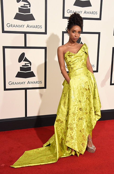 <div class='meta'><div class='origin-logo' data-origin='AP'></div><span class='caption-text' data-credit='Jordan Strauss/Invision/AP'>Lianne La Havas arrives at the 58th annual Grammy Awards at the Staples Center on Monday, Feb. 15, 2016, in Los Angeles.</span></div>
