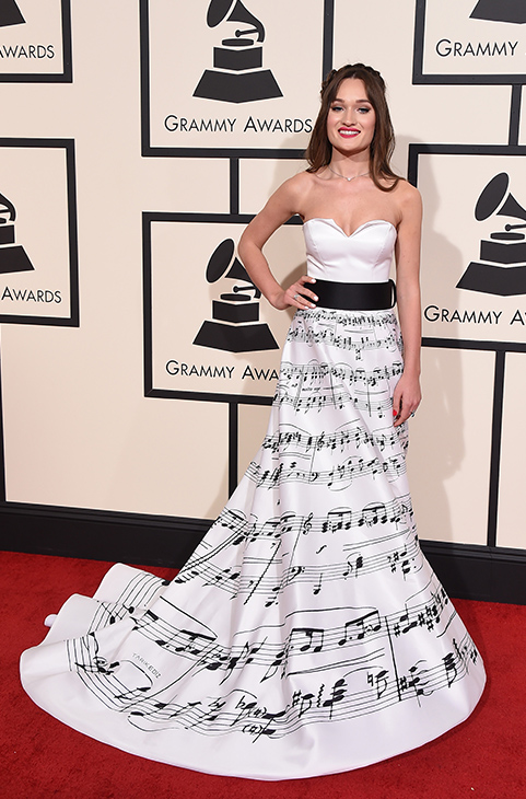 <div class='meta'><div class='origin-logo' data-origin='AP'></div><span class='caption-text' data-credit='Jordan Strauss/Invision/AP'>Diana Gloster arrives at the 58th annual Grammy Awards at the Staples Center on Monday, Feb. 15, 2016, in Los Angeles.</span></div>