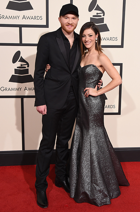 <div class='meta'><div class='origin-logo' data-origin='AP'></div><span class='caption-text' data-credit='Jordan Strauss/Invision/AP'>Eric Paslay, left, and Natalie Harker arrive at the 58th annual Grammy Awards at the Staples Center on Monday, Feb. 15, 2016, in Los Angeles.</span></div>