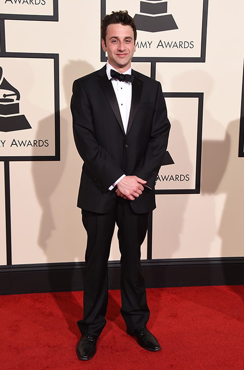 <div class='meta'><div class='origin-logo' data-origin='AP'></div><span class='caption-text' data-credit='Jordan Strauss/Invision/AP'>Justin Hurwitz arrives at the 58th annual Grammy Awards at the Staples Center on Monday, Feb. 15, 2016, in Los Angeles.</span></div>
