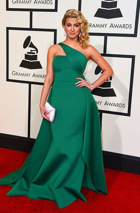 <div class='meta'><div class='origin-logo' data-origin='none'></div><span class='caption-text' data-credit='Jordan Strauss/Invision/AP'>Tori Kelly arrives at the 58th annual Grammy Awards at the Staples Center on Monday, Feb. 15, 2016, in Los Angeles.</span></div>