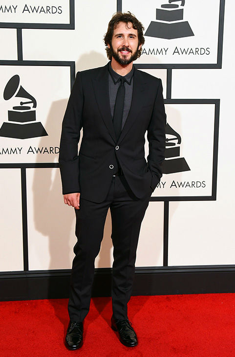 <div class='meta'><div class='origin-logo' data-origin='none'></div><span class='caption-text' data-credit='Jordan Strauss/Invision/AP'>Josh Groban arrives at the 58th annual Grammy Awards at the Staples Center on Monday, Feb. 15, 2016, in Los Angeles.</span></div>