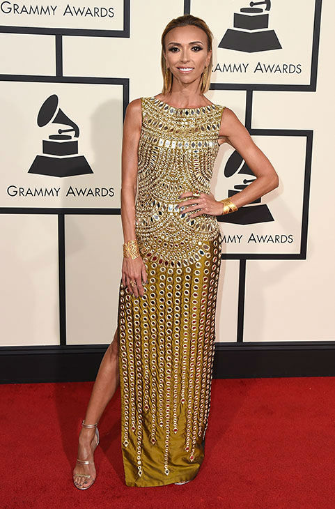 <div class='meta'><div class='origin-logo' data-origin='none'></div><span class='caption-text' data-credit='Jordan Strauss/Invision/AP'>Giuliana Rancic arrives at the 58th annual Grammy Awards at the Staples Center on Monday, Feb. 15, 2016, in Los Angeles.</span></div>