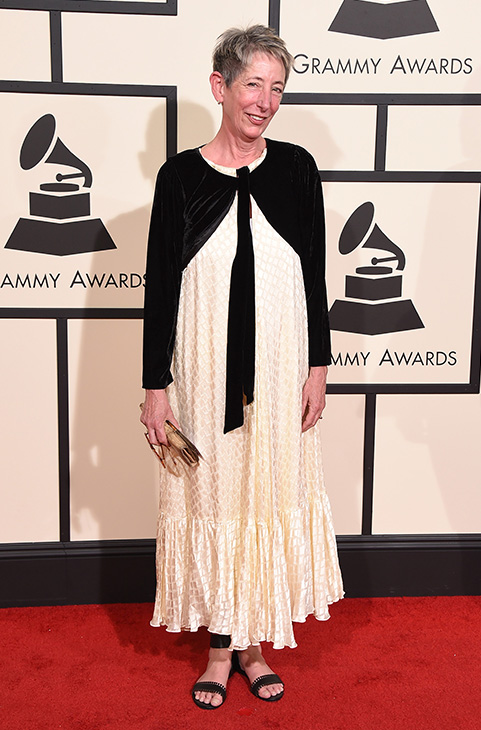 <div class='meta'><div class='origin-logo' data-origin='AP'></div><span class='caption-text' data-credit='Jordan Strauss/Invision/AP'>Laura Khun arrives at the 58th annual GRAMMY Awards at the Staples Center on Monday, Feb. 15, 2016, in Los Angeles.</span></div>