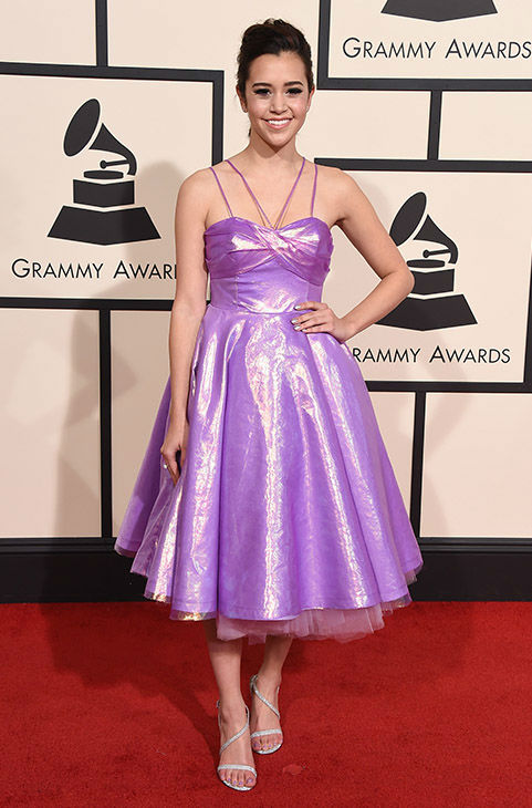 <div class='meta'><div class='origin-logo' data-origin='none'></div><span class='caption-text' data-credit='Jordan Strauss/Invision/AP'>Megan Nicole arrives at the 58th annual Grammy Awards at the Staples Center on Monday, Feb. 15, 2016, in Los Angeles.</span></div>
