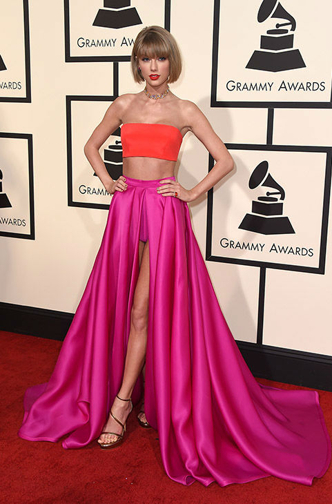 <div class='meta'><div class='origin-logo' data-origin='none'></div><span class='caption-text' data-credit='Jordan Strauss/Invision/AP'>Taylor Swift arrives at the 58th annual Grammy Awards at the Staples Center on Monday, Feb. 15, 2016, in Los Angeles.</span></div>