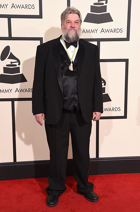 <div class='meta'><div class='origin-logo' data-origin='AP'></div><span class='caption-text' data-credit='Jordan Strauss/Invision/AP'>Jeff Place arrives at the 58th annual GRAMMY Awards at the Staples Center on Monday, Feb. 15, 2016, in Los Angeles.</span></div>