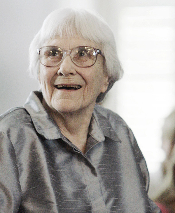 <div class='meta'><div class='origin-logo' data-origin='AP'></div><span class='caption-text' data-credit='AP Photo/Rob Carr, File'>Harper Lee, who won a Pulitzer Prize for her book, &#34;To Kill a Mockingbird,&#34; died Friday, February 19, 2016 at the age of 89.</span></div>