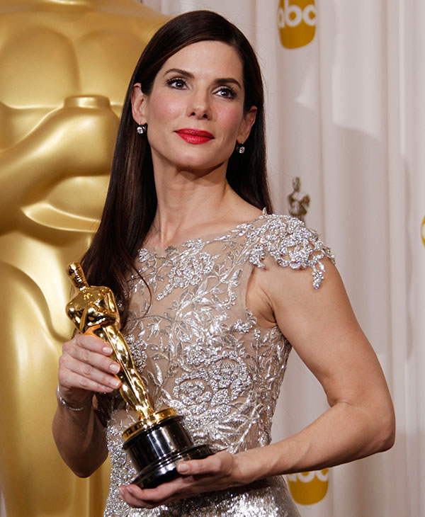 <div class='meta'><div class='origin-logo' data-origin='AP'></div><span class='caption-text' data-credit=''>Sandra Bullock poses with the Oscar for Actress in a Leading Role for &#34;The Blind Side&#34; in the Press Room during the 82nd Academy Awards Sunday, March 7, 2010.</span></div>