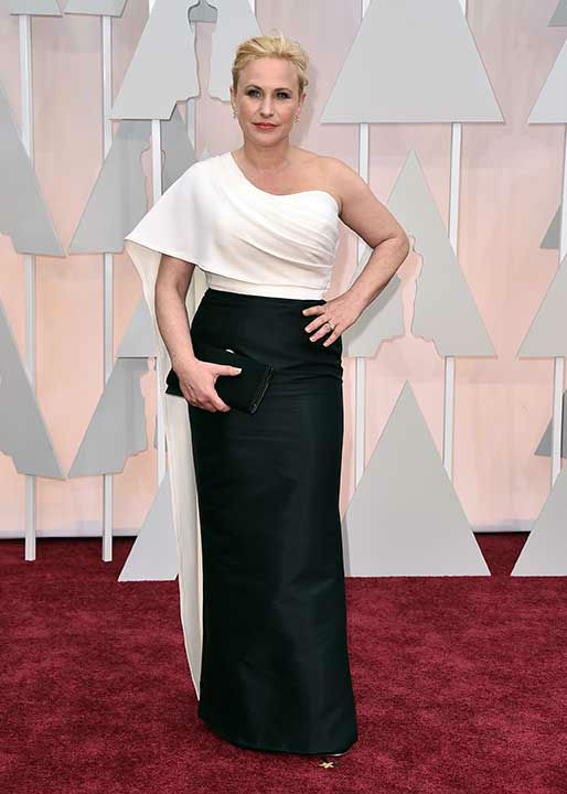 "<div class=""meta image-caption""><div class=""origin-logo origin-image none""><span>none</span></div><span class=""caption-text"">Patricia Arquette arrives on the red carpet for the 2015 Oscars. (Photo/Jordan Strauss)</span></div>"