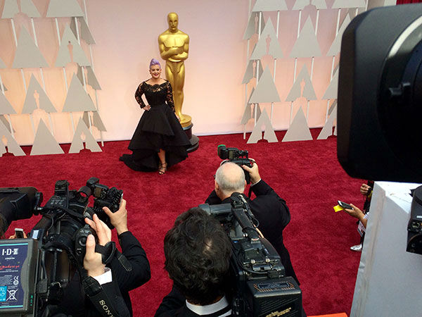"<div class=""meta image-caption""><div class=""origin-logo origin-image none""><span>none</span></div><span class=""caption-text"">Kelly Osbourne arrives on the red carpet for the 2015 Oscars. (ABC Owned Television Stations)</span></div>"