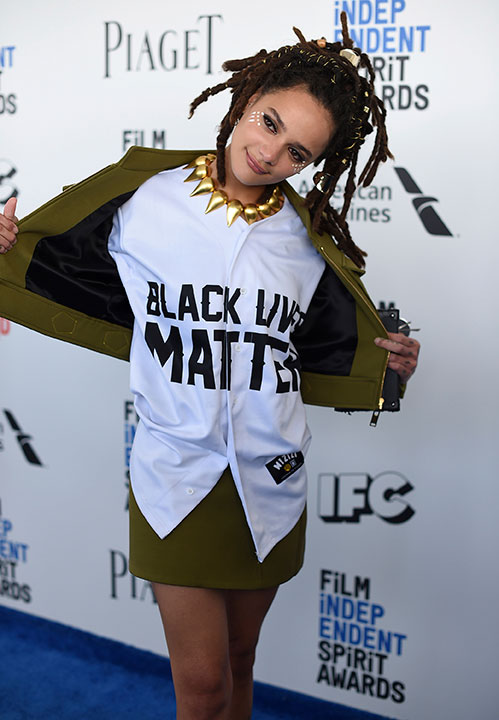 "<div class=""meta image-caption""><div class=""origin-logo origin-image none""><span>none</span></div><span class=""caption-text"">Sasha Lane arrives at the Film Independent Spirit Awards on Saturday, Feb. 25, 2017, in Santa Monica, Calif. (Jordan Strauss/Invision/AP)</span></div>"
