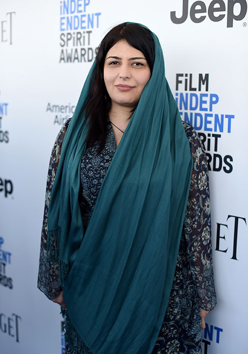 "<div class=""meta image-caption""><div class=""origin-logo origin-image none""><span>none</span></div><span class=""caption-text"">Rokhsareh Ghaemmaghami arrives at the Film Independent Spirit Awards on Saturday, Feb. 25, 2017, in Santa Monica, Calif. (Jordan Strauss/Invision/AP)</span></div>"
