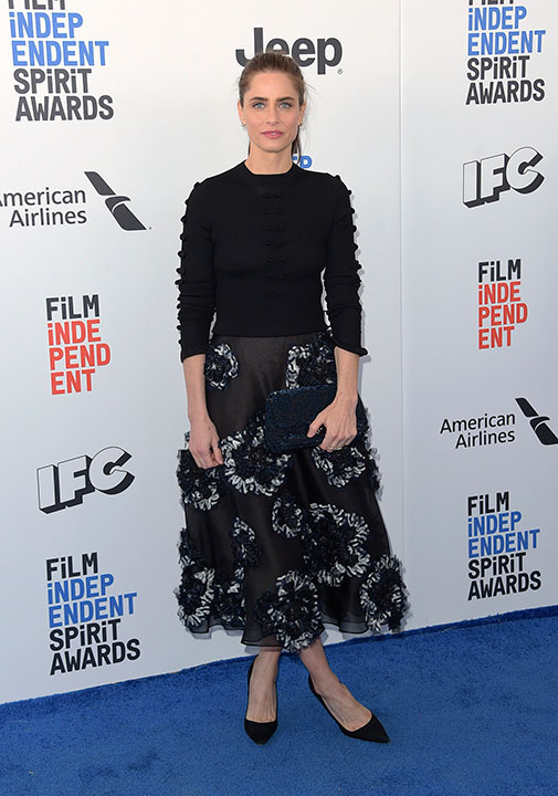 "<div class=""meta image-caption""><div class=""origin-logo origin-image none""><span>none</span></div><span class=""caption-text"">Amanda Peet arrives at the Film Independent Spirit Awards on Saturday, Feb. 25, 2017, in Santa Monica, Calif. (Richard Shotwell/Invision/AP)</span></div>"