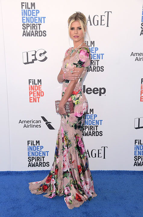 "<div class=""meta image-caption""><div class=""origin-logo origin-image none""><span>none</span></div><span class=""caption-text"">Lala Rudge arrives at the Film Independent Spirit Awards on Saturday, Feb. 25, 2017, in Santa Monica, Calif. (Richard Shotwell/Invision/AP)</span></div>"