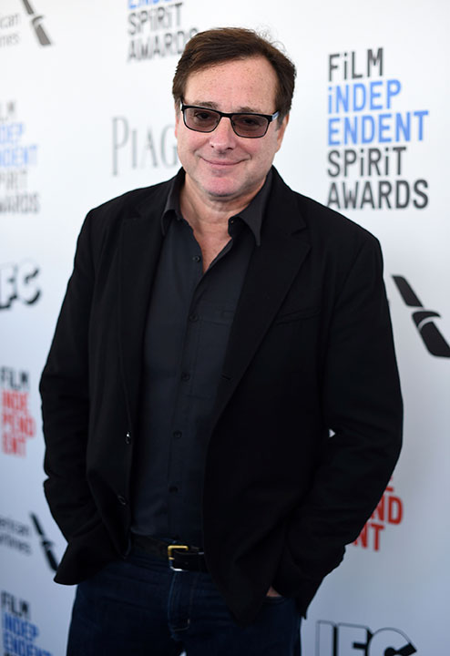 "<div class=""meta image-caption""><div class=""origin-logo origin-image none""><span>none</span></div><span class=""caption-text"">Bob Saget arrives at the Film Independent Spirit Awards on Saturday, Feb. 25, 2017, in Santa Monica, Calif. (Jordan Strauss/Invision/AP)</span></div>"