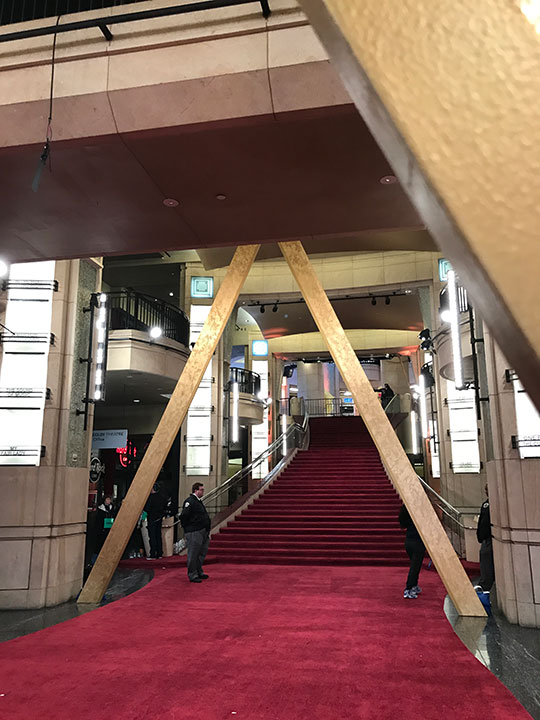 "<div class=""meta image-caption""><div class=""origin-logo origin-image none""><span>none</span></div><span class=""caption-text"">Crews prepare the red carpet on Saturday, Feb. 25 ahead of the Oscars on Sunday.</span></div>"