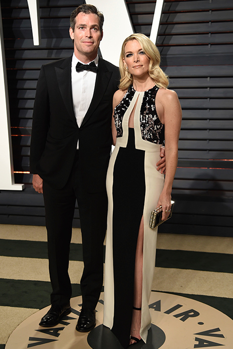 "<div class=""meta image-caption""><div class=""origin-logo origin-image ap""><span>AP</span></div><span class=""caption-text"">Douglas Brunt, left, and Megan Kelly arrive at the Vanity Fair Oscar Party on Sunday, Feb. 26, 2017, in Beverly Hills, Calif. (Evan Agostini/Invision/AP)</span></div>"