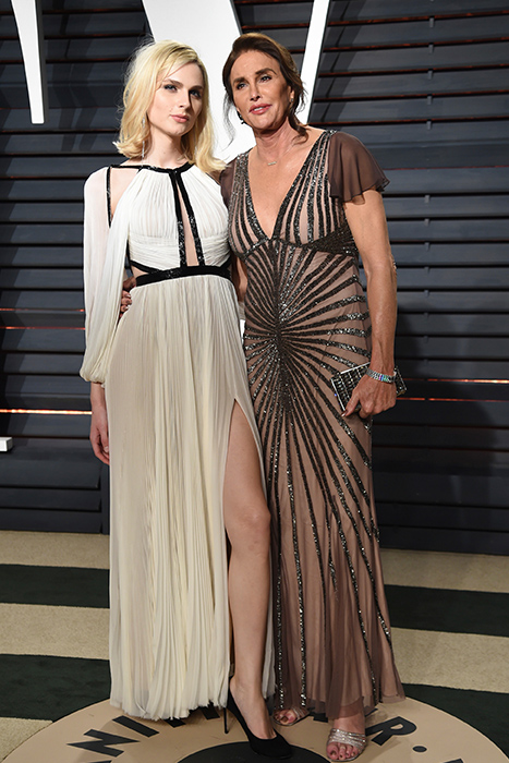 "<div class=""meta image-caption""><div class=""origin-logo origin-image ap""><span>AP</span></div><span class=""caption-text"">Andreja Pejic, left, and Catlyn Jenner arrive at the Vanity Fair Oscar Party on Sunday, Feb. 26, 2017, in Beverly Hills, Calif. (Evan Agostini/Invision/AP)</span></div>"