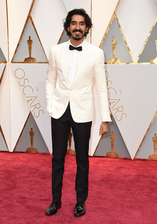 "<div class=""meta image-caption""><div class=""origin-logo origin-image ap""><span>AP</span></div><span class=""caption-text"">Dev Patel arrives at the Oscars on Sunday, Feb. 26, 2017, at the Dolby Theatre in Los Angeles. (Photo by Jordan Strauss/Invision/AP)</span></div>"