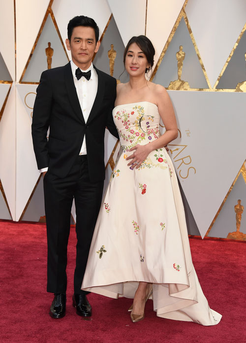 "<div class=""meta image-caption""><div class=""origin-logo origin-image ap""><span>AP</span></div><span class=""caption-text"">John Cho, left, and Kerri Higuchi arrive at the Oscars on Sunday, Feb. 26, 2017, at the Dolby Theatre in Los Angeles. (Photo by Jordan Strauss/Invision/AP)</span></div>"