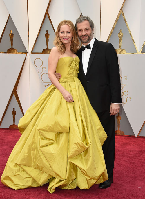 "<div class=""meta image-caption""><div class=""origin-logo origin-image ap""><span>AP</span></div><span class=""caption-text"">Leslie Mann, left, and Judd Apatow arrive at the Oscars on Sunday, Feb. 26, 2017, at the Dolby Theatre in Los Angeles. (Photo by Jordan Strauss/Invision/AP)</span></div>"