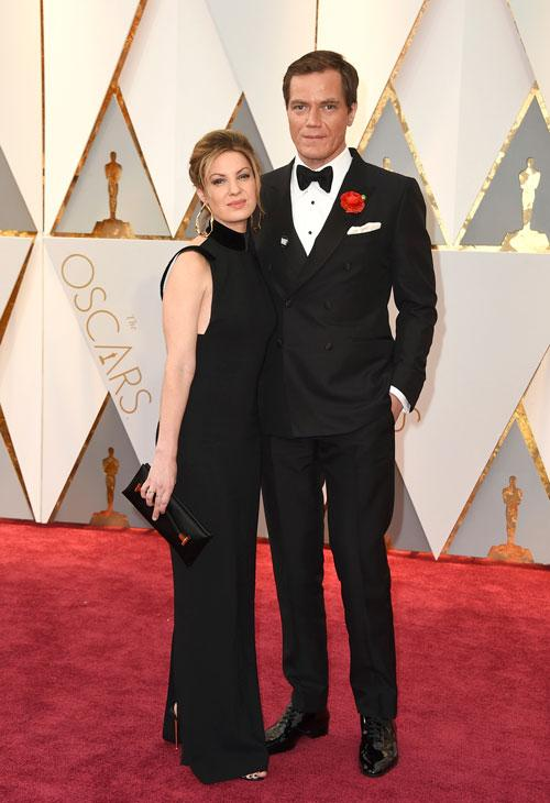 "<div class=""meta image-caption""><div class=""origin-logo origin-image ap""><span>AP</span></div><span class=""caption-text"">Kate Arrington, left, and Michael Shannon arrive at the Oscars on Sunday, Feb. 26, 2017, at the Dolby Theatre in Los Angeles. (Photo by Jordan Strauss/Invision/AP)</span></div>"