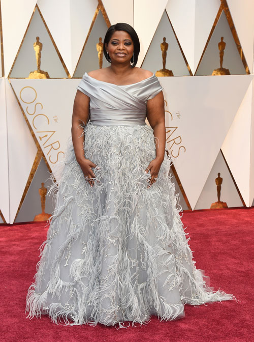 "<div class=""meta image-caption""><div class=""origin-logo origin-image ap""><span>AP</span></div><span class=""caption-text"">Octavia Spencer arrives at the Oscars on Sunday, Feb. 26, 2017, at the Dolby Theatre in Los Angeles. (Photo by Jordan Strauss/Invision/AP)</span></div>"