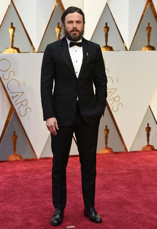 <div class='meta'><div class='origin-logo' data-origin='AP'></div><span class='caption-text' data-credit='Photo by Jordan Strauss/Invision/AP'>Casey Affleck arrives at the Oscars on Sunday, Feb. 26, 2017, at the Dolby Theatre in Los Angeles.</span></div>