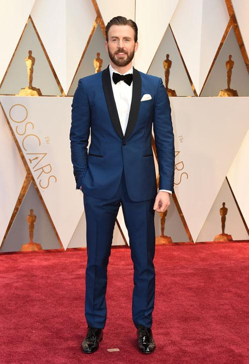 <div class='meta'><div class='origin-logo' data-origin='AP'></div><span class='caption-text' data-credit='Photo by Jordan Strauss/Invision/AP'>Chris Evans arrives at the Oscars on Sunday, Feb. 26, 2017, at the Dolby Theatre in Los Angeles.</span></div>
