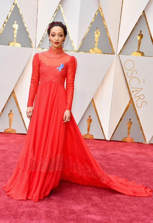 "<div class=""meta image-caption""><div class=""origin-logo origin-image none""><span>none</span></div><span class=""caption-text"">Actor Ruth Negga attends the 89th Annual Academy Awards at Hollywood & Highland Center on February 26, 2017 in Hollywood, California. (Photo by Steve Granitz/WireImage)</span></div>"