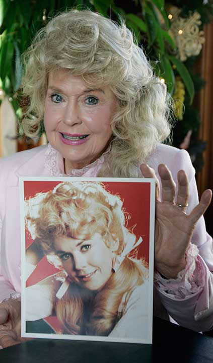 <div class='meta'><div class='origin-logo' data-origin='none'></div><span class='caption-text' data-credit='Photo/Bill Haber'>Donna Douglas, best known as Elly May Clampett on ''The Beverly Hillbillies,'' died Jan. 1, 2015 at the age of 82.</span></div>