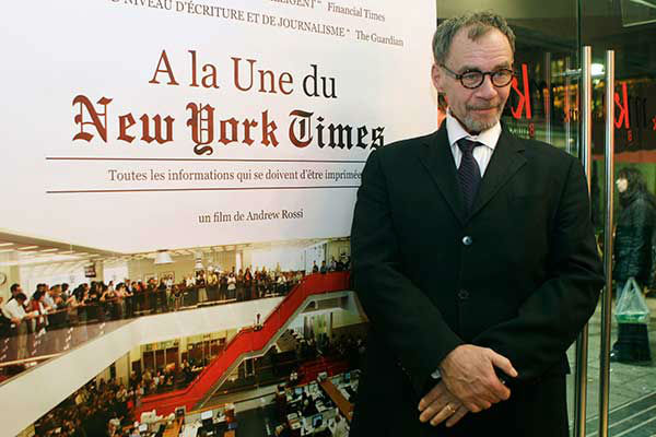 <div class='meta'><div class='origin-logo' data-origin='none'></div><span class='caption-text' data-credit='Photo/Michel Euler'>David Carr, media columnist for The New York Times, died Feb. 12, 2015 at the age of 58.</span></div>