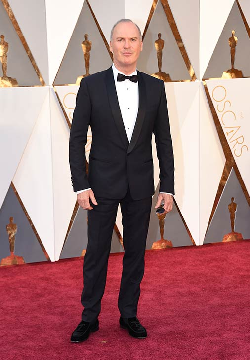 <div class='meta'><div class='origin-logo' data-origin='AP'></div><span class='caption-text' data-credit='Photo by Jordan Strauss/Invision/AP'>Michael Keaton arrives at the Oscars on Sunday, Feb. 28, 2016, at the Dolby Theatre in Los Angeles.</span></div>