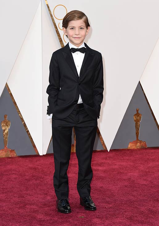 <div class='meta'><div class='origin-logo' data-origin='AP'></div><span class='caption-text' data-credit='Jordan Strauss/Invision/AP'>Jacob Tremblay arrives at the Oscars on Sunday, Feb. 28, 2016, at the Dolby Theatre in Los Angeles.</span></div>