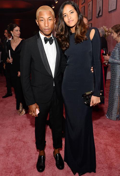 Oscar Fashions Pharrell Williams Wife