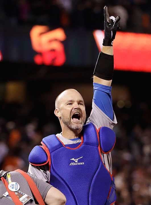 "<div class=""meta image-caption""><div class=""origin-logo origin-image none""><span>none</span></div><span class=""caption-text"">Former Chicago Cubs catcher David Ross is competing on this season of ''Dancing with the Stars.'' (Marcio Jose Sanchez/AP Photo)</span></div>"