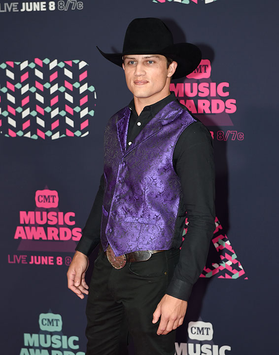 "<div class=""meta image-caption""><div class=""origin-logo origin-image none""><span>none</span></div><span class=""caption-text"">Professional Bull Rider Bonner Bolton is competing on this season of ''Dancing with the Stars.'' (Sanford Myers/Invision/AP)</span></div>"