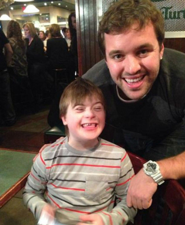 <div class='meta'><div class='origin-logo' data-origin='none'></div><span class='caption-text' data-credit='Photo/Hot 99.5'>Christopher with John, an intern from Hot 99.5 who helped organized the meetup between the 10-year-old and Adam Levine.</span></div>