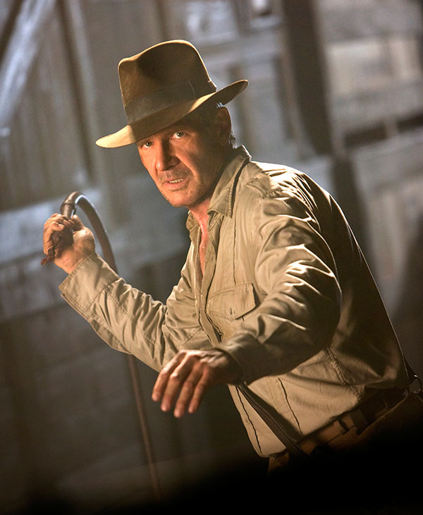 <div class='meta'><div class='origin-logo' data-origin='AP'></div><span class='caption-text' data-credit=''>Harrison Ford is shown in a scene from the 2008 film, &#34;Indiana Jones and the Kingdom of the Crystal Skull.&#34;</span></div>
