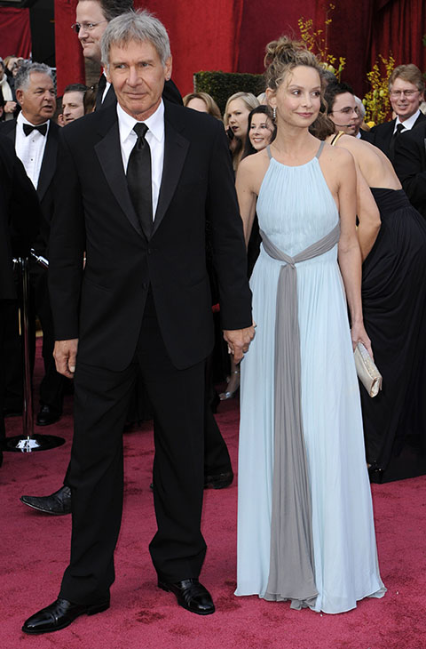 "<div class=""meta image-caption""><div class=""origin-logo origin-image ap""><span>AP</span></div><span class=""caption-text"">Harrison Ford, left, and actress Calista Flockhart arrive for the 80th Academy Awards Sunday, Feb. 24, 2008, in Los Angeles. </span></div>"