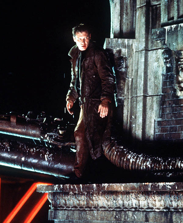 <div class='meta'><div class='origin-logo' data-origin='AP'></div><span class='caption-text' data-credit=''>Harrison Ford as Rick Deckard watches for pursuing androids in director Ridley Scott's 1982 cult classic &#34;Blade Runner.&#34;</span></div>