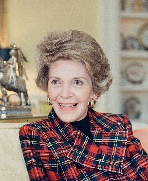 <div class='meta'><div class='origin-logo' data-origin='AP'></div><span class='caption-text' data-credit='AP Photo/Charles Tasnadi'>Nancy Reagan, wife of the late President Ronald Reagan, died Sunday, March 6, 2016, at her home in Los Angeles. She was 94.</span></div>
