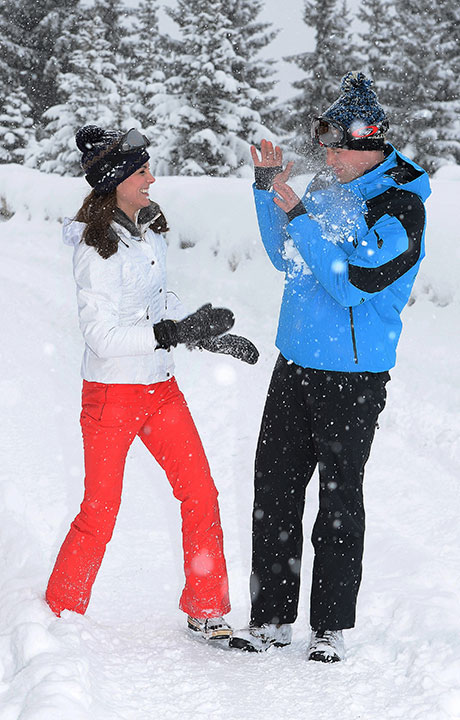 "<div class=""meta image-caption""><div class=""origin-logo origin-image none""><span>none</span></div><span class=""caption-text"">Britain's Prince William and Kate Duchess of Cambridge enjoy a snow ball fight in the French Alps on March 3, 2016. (John Stillwell/Pool via AP)</span></div>"