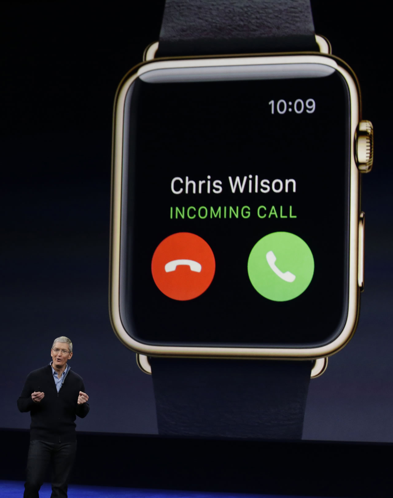 "<div class=""meta image-caption""><div class=""origin-logo origin-image kgo""><span>KGO</span></div><span class=""caption-text"">Apple CEO Tim Cook explains the features of the new Apple Watch during an Apple event on Monday, March 9, 2015, in San Francisco. (AP Photo/Eric Risberg)</span></div>"