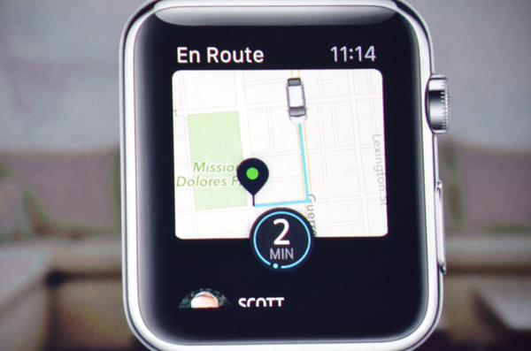 "<div class=""meta image-caption""><div class=""origin-logo origin-image kgo""><span>KGO</span></div><span class=""caption-text"">Uber has retooled its app for the tiny display on Apple Watch. (KGO)</span></div>"